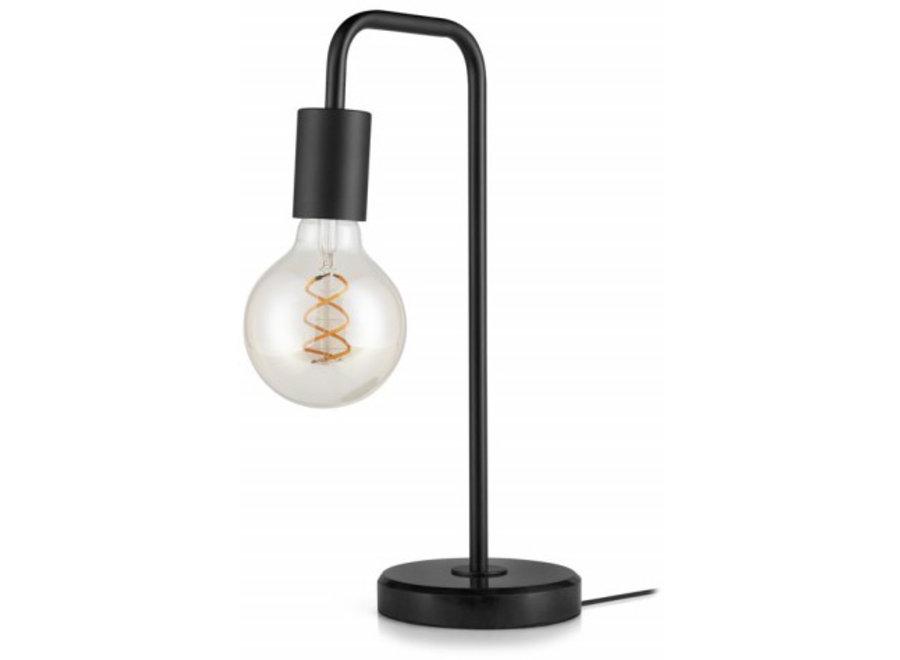 Marmeren Tafellamp Max - zwart Lifa Living