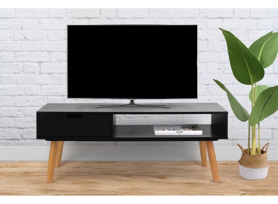 TV Meubel Venetie - zwart Lifa Living