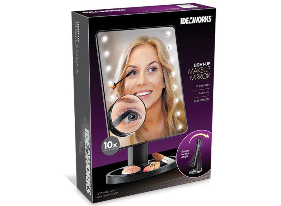Make-Up Spiegel met vergroter X10 E8113DLX Ideaworks