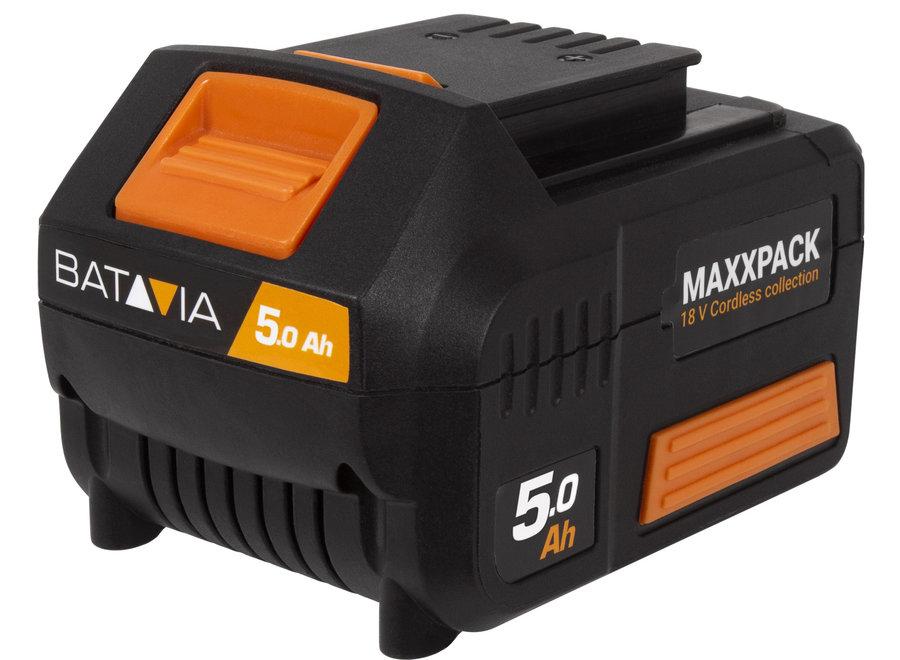 5.0 Ah 18V Li-Ion Accu Maxxpack 7063735 Batavia