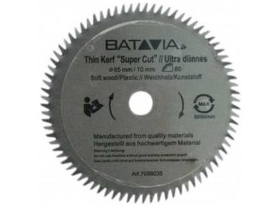 XXL Speed Saw HSS zaagblad 80t ?85mm - 2 stuks 7058035 Batavia
