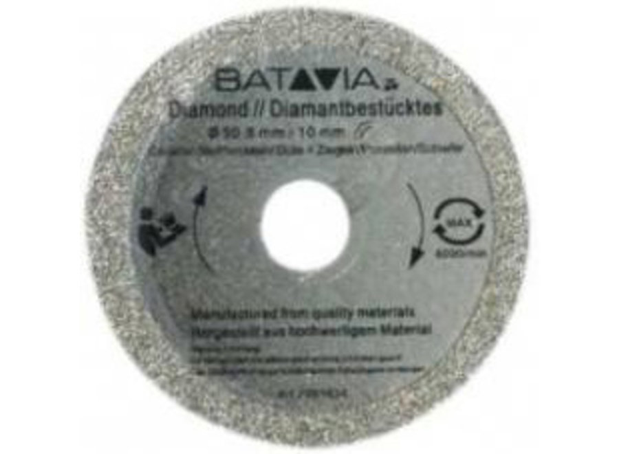 XXL Speed Saw Diamant zaagblad ?50mm - 2 stuks 7060098 Batavia