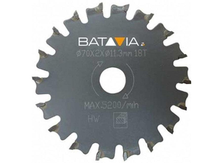 Racer TCT zaagblad 18t ?70mm - 2 stuks 7061496 Batavia