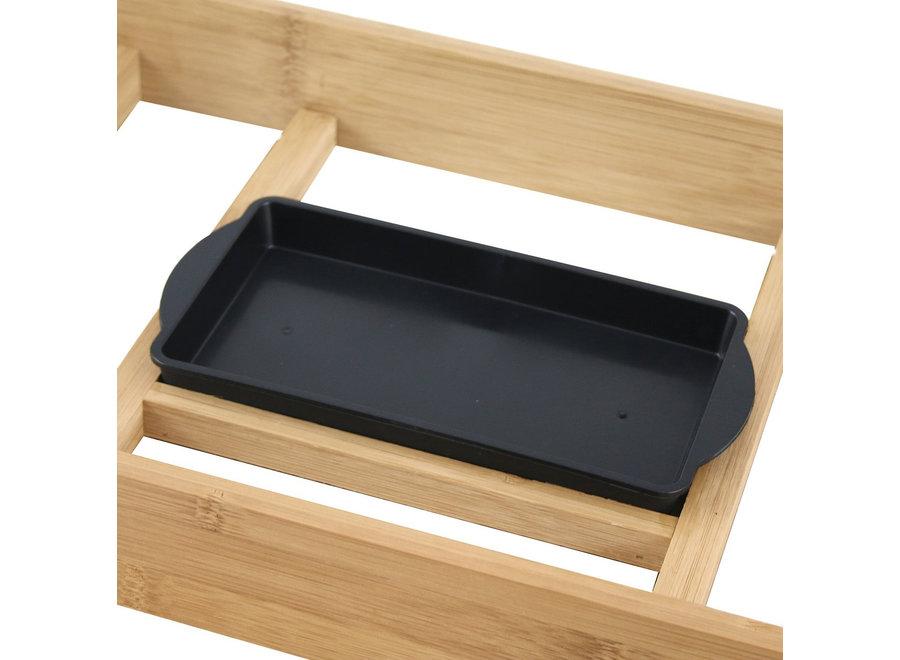 Teppanyaki grilplaat Bamboelook TG-110281.1 Emerio