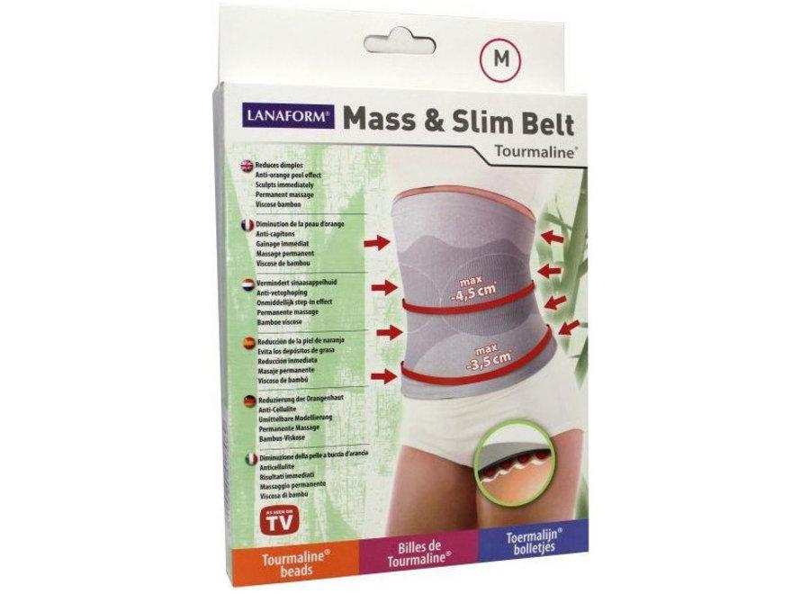 Mass & Slim Belt - maat M LA 0130042 Lanaform