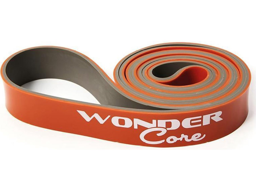 Pull Up Band - 3,2 cm - oranje/grijs WOC047 Wonder Core