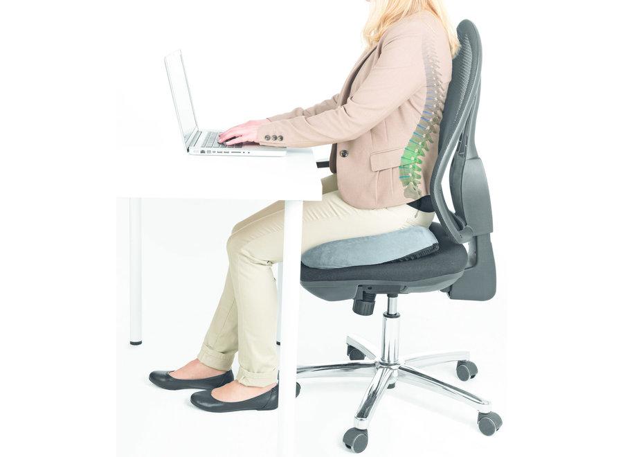 Gel Seat Ergonomisch Kussen - grijs VGC001 Vitalmaxx