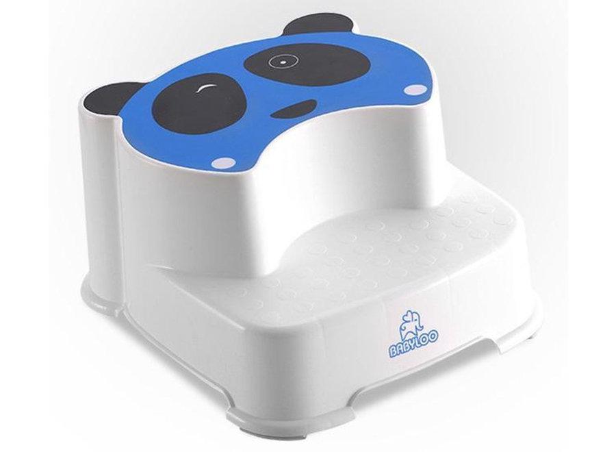 Panda Step Stool - blauw BAL005 Babyloo