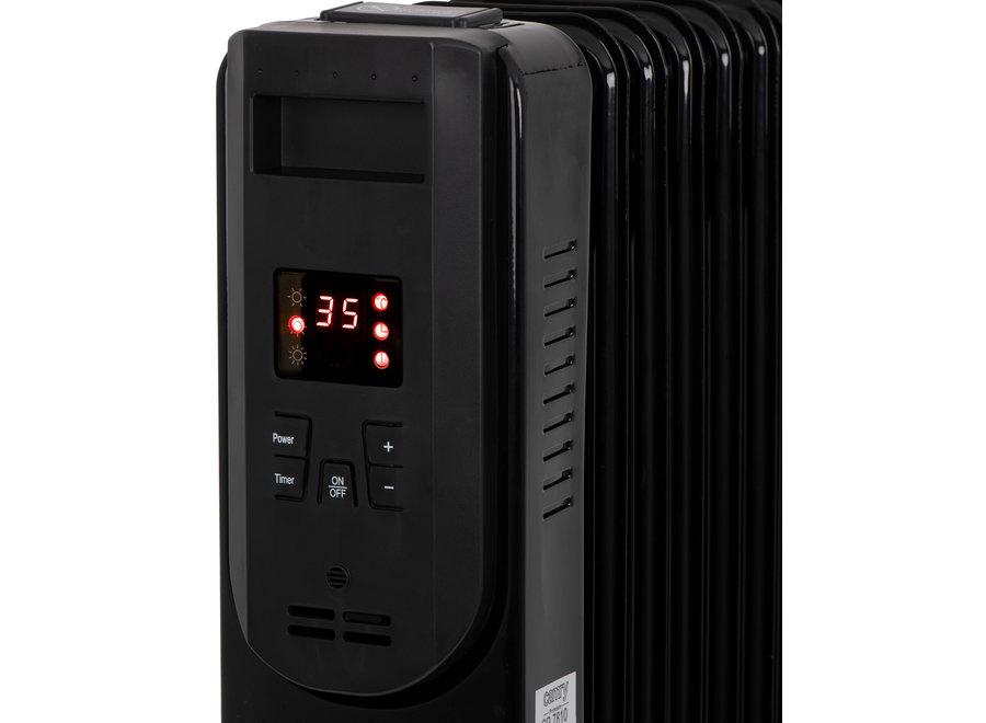 9-ribs Olie Radiator met LCD Display & afstandsbediening CR 7810 Camry
