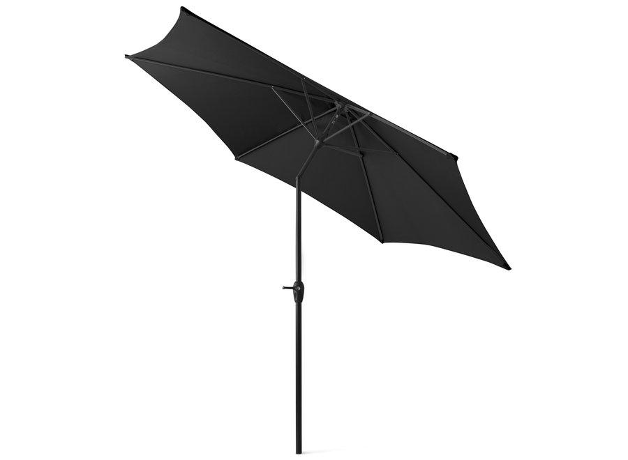 XL Parasol - 300 cm - zwart (excl. voet) 909 Outdoor