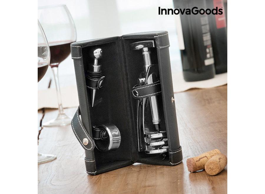 Wijnaccessoireset - 4-delig V0100603 Innovagoods