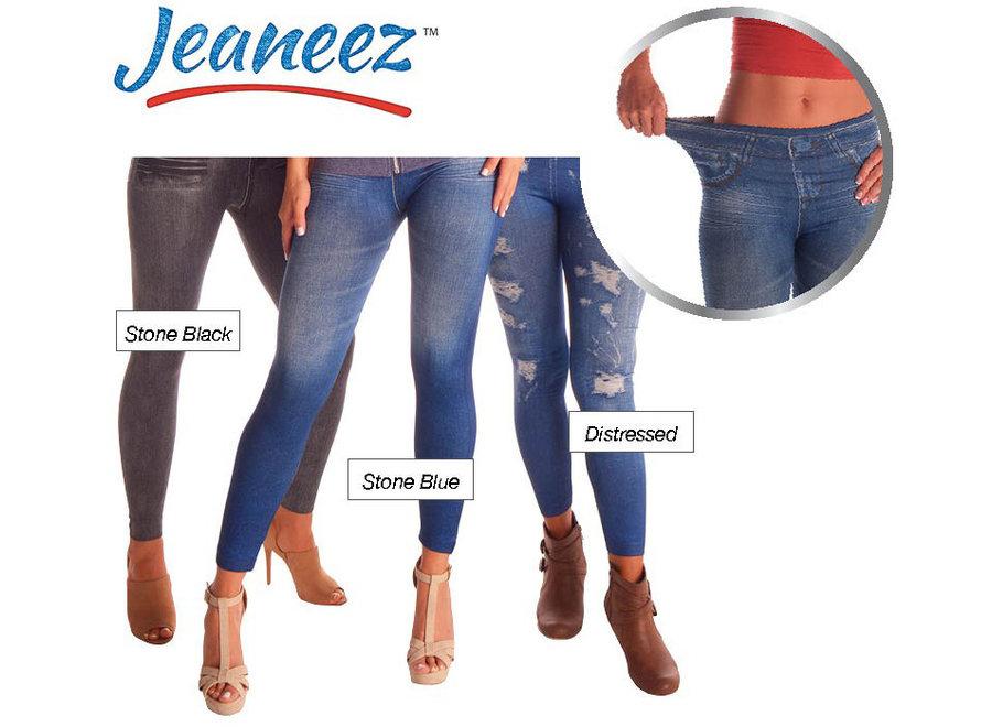 Jeaneez Afslanklegging - maat S/M JEA001