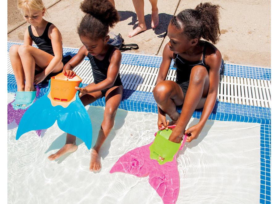 Finis Mermaid Zwemvlies - paars FIM001
