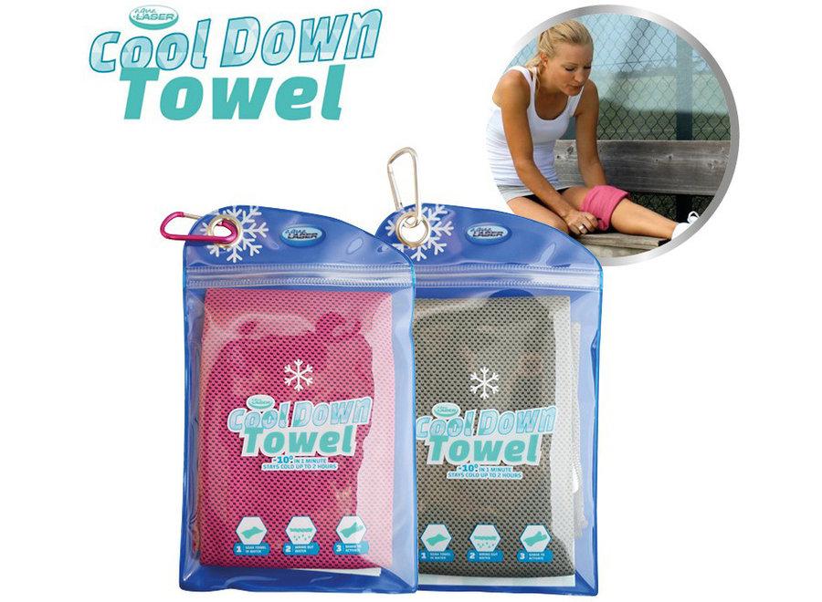 Cool Down Towel Koelhanddoek - blauw/groen CDT001