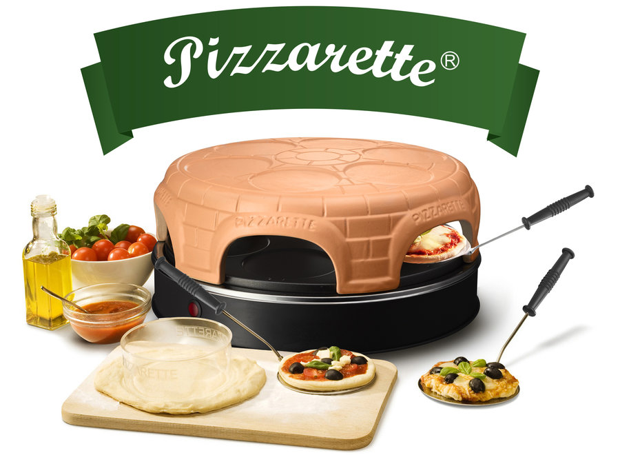 Pizzarette Pre-bake 6-persoons PO-115848.1 Emerio