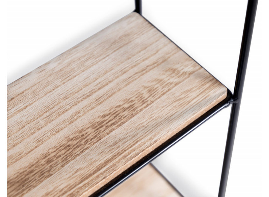 Palma Wandrek - hout/staal Lifa Living