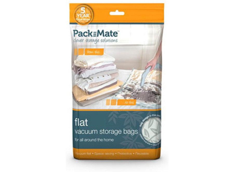 Vacuum Opbergzakken Flat Bag XL 2-pack Packmate