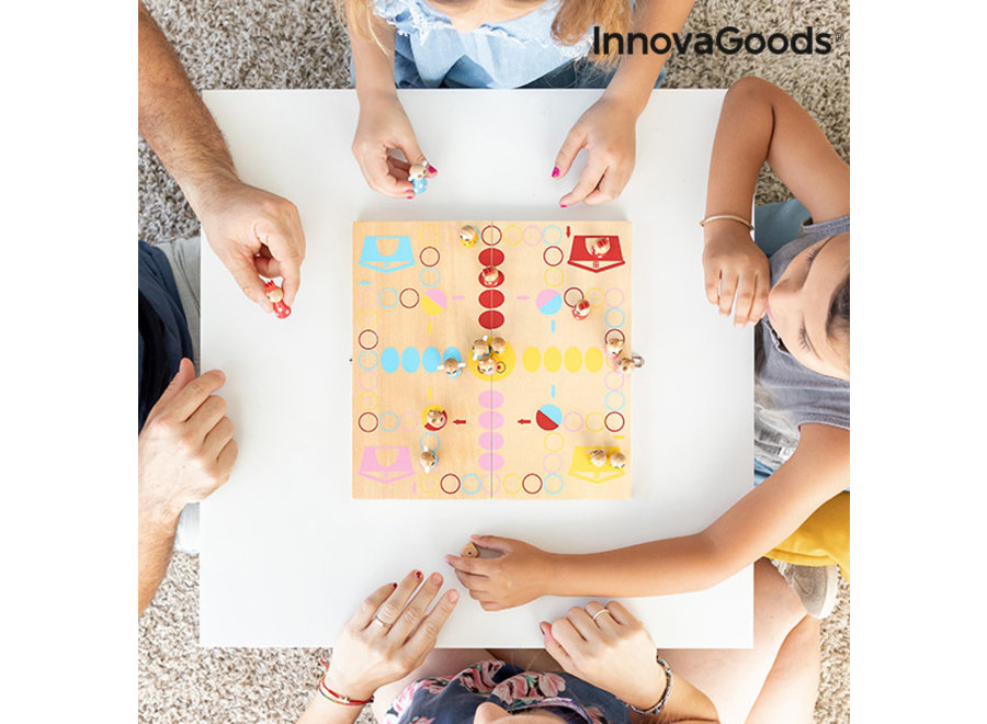 Mens-erger-je-niet Houten Kindereditie V0101252 Innovagoods