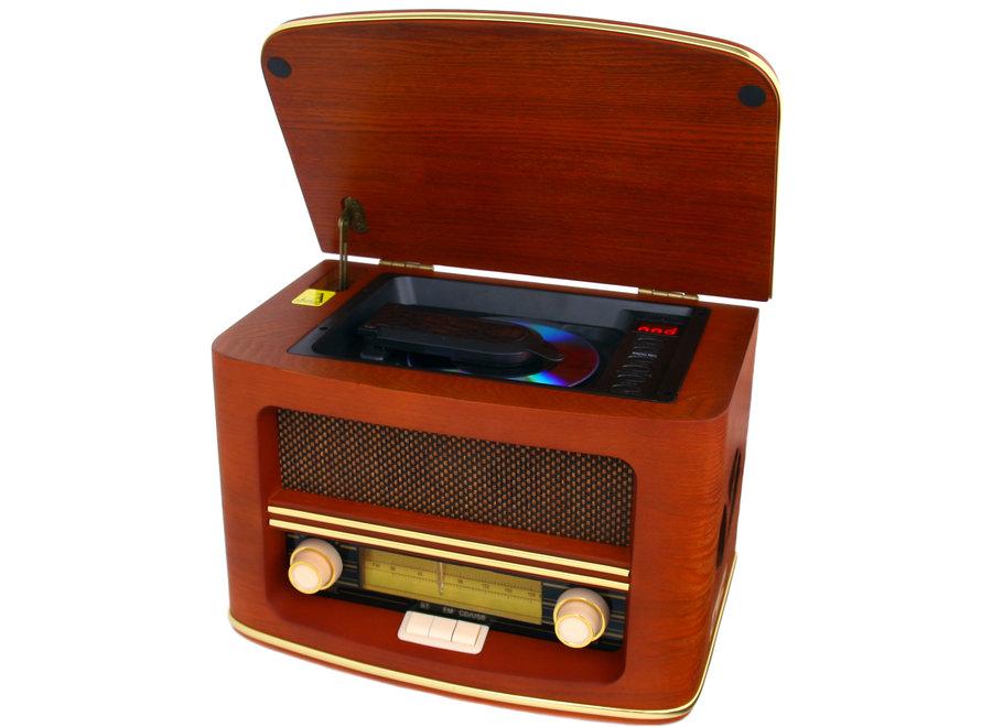 Retro Radio met Bluetooth & AB CR 1167 Camry