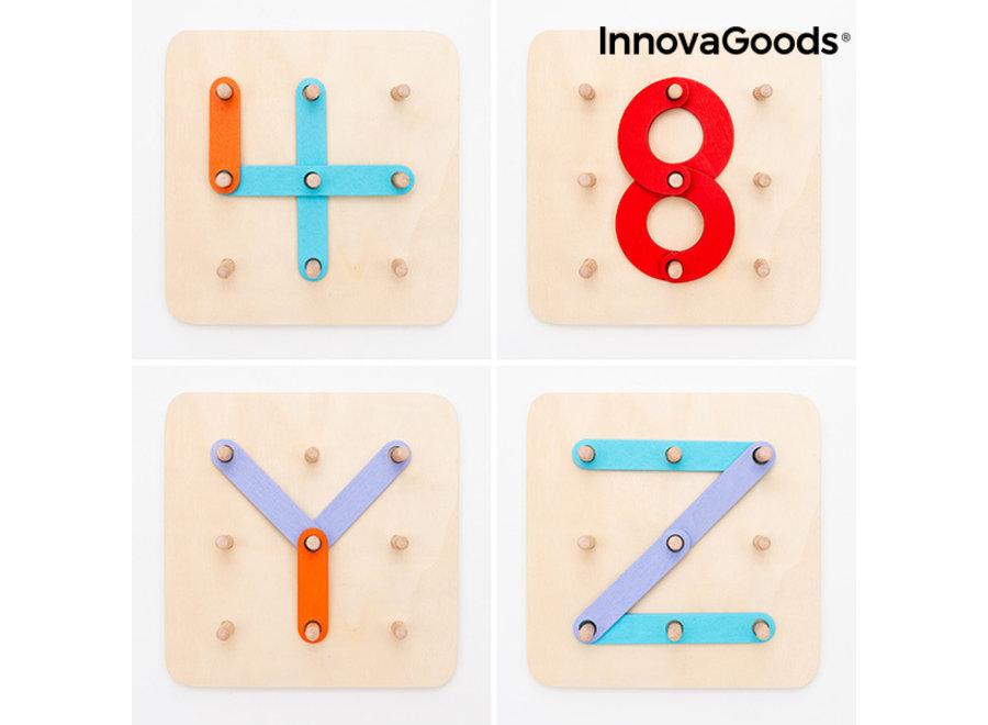 Koogame Houten Letter- & Cijferbord V0103013 Innovagoods