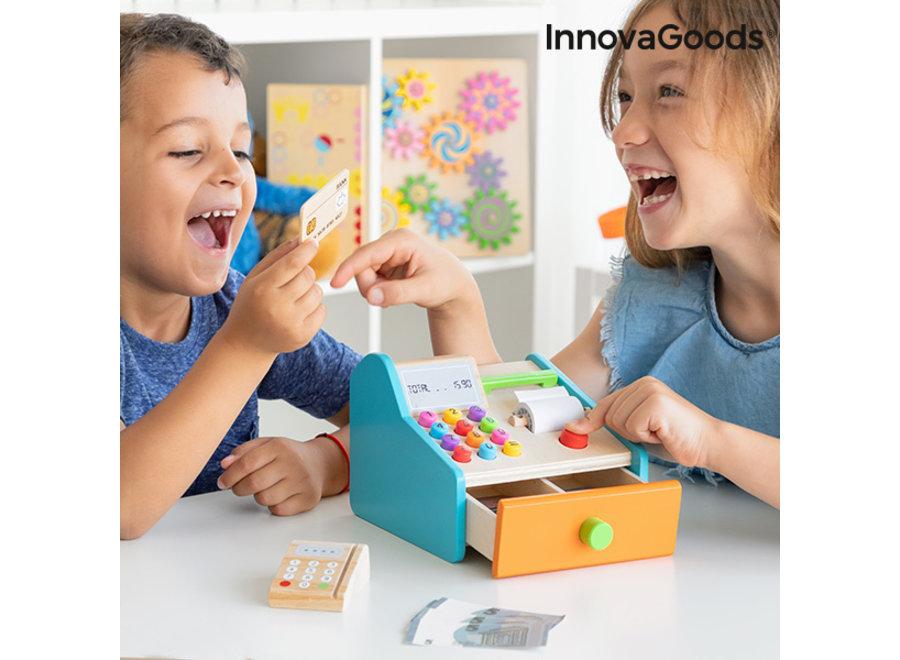 Kashy Houten Kassa V0101268 Innovagoods