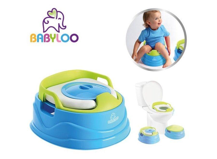Babyloo Bambino 3-in-1 Potty Potjestrainer - 2 kleuren