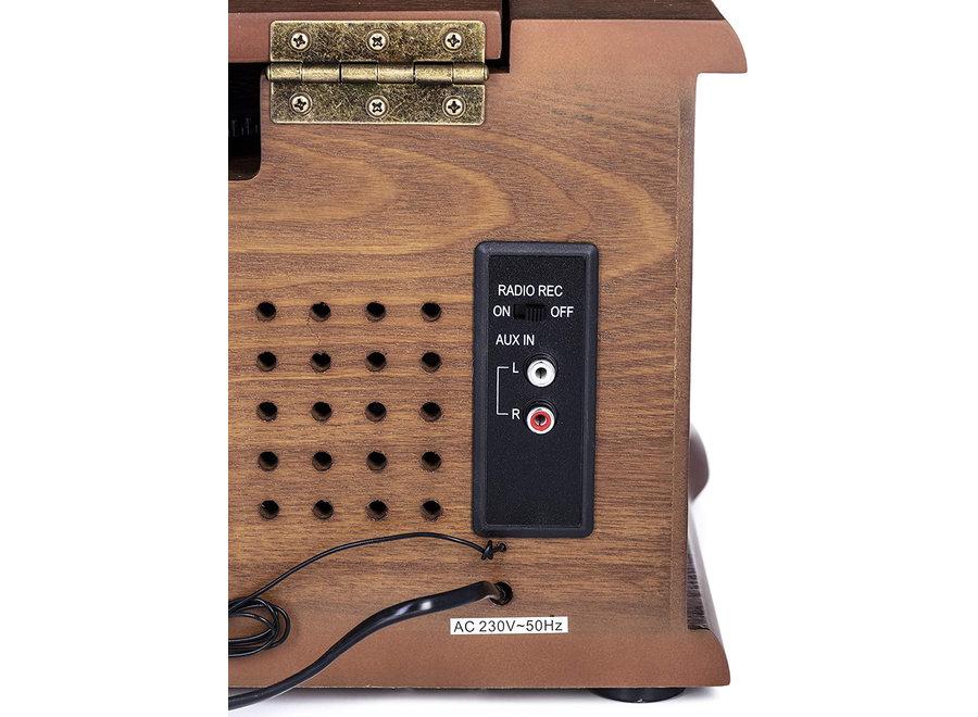 Retro Draaitafel CD/USB/MP3 CR 1111 Camry