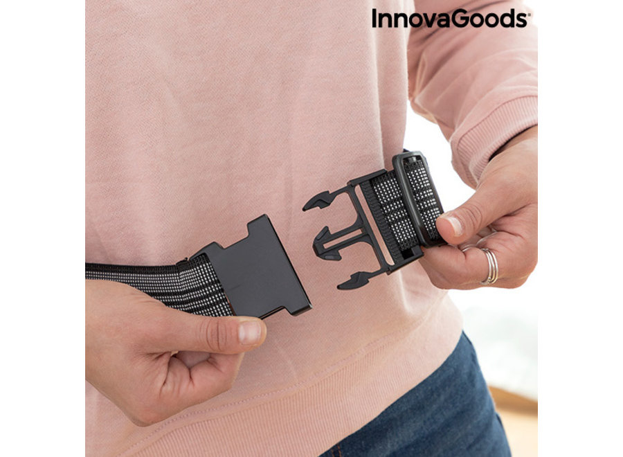 Elektrische kruik met band - grijs V0103191 Innovagoods