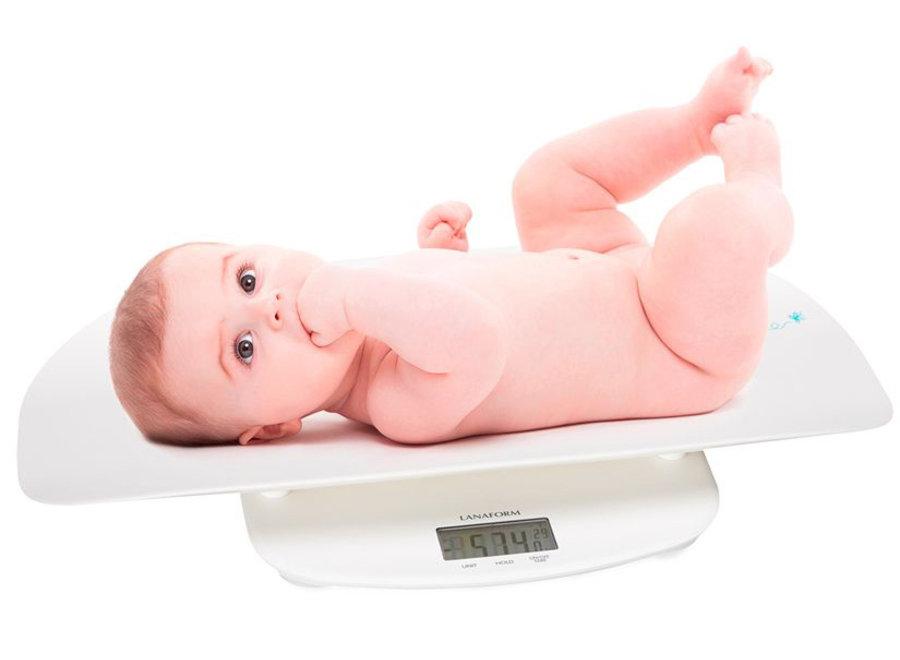 Baby Evolutive Weegschaal & Personenweegschaal LA 090325 Lanaform