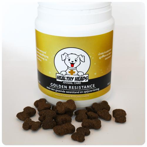 Healthy Heads Golden Resistance Brokken Hond - 180g