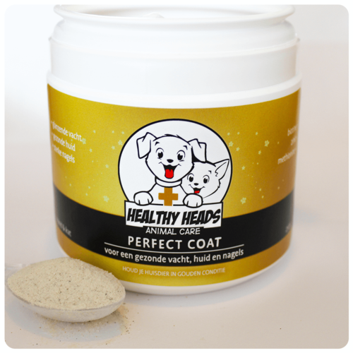 Healthy Heads Perfect Coat Poeder Hond & Kat - 250g