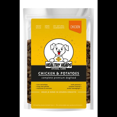 Healthy Heads Graanvrij Kip & Aardappel Hond