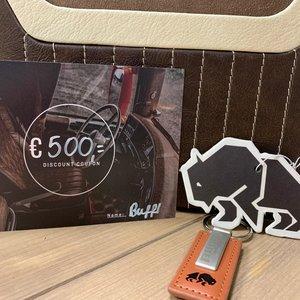 BUFFL Cadeaubon € 500,-