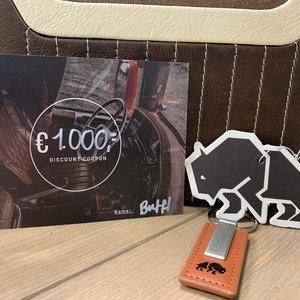 BUFFL Geschenkgutschein € 1.000,-