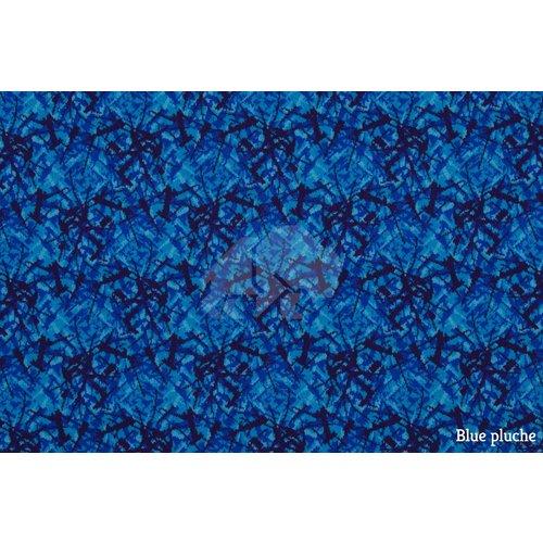 Sample Blue pluche