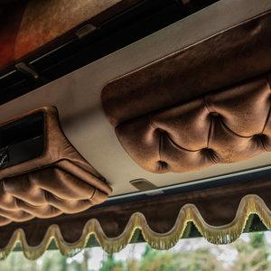 BUFFL Set sun visors (Scania R)