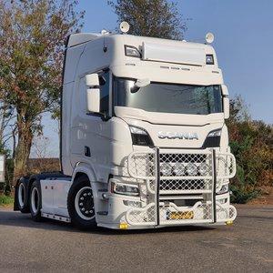 BUFFL Coles Custom sun visor Scania Next Gen