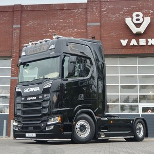 BUFFL Headlamp eyebrows Scania Next Gen