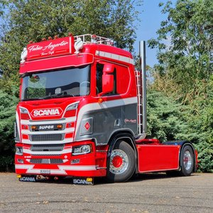 BUFFL Set corner shields Scania Next Gen