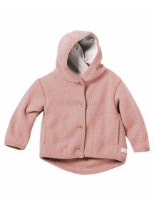 Disana Baby Jacket Organic Boiled Wool - Rose