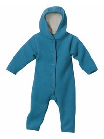 Disana Baby Overall Boiled Wool - Blue