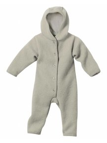 Disana Baby Overall Boiled Wool - Grey