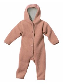 Disana Baby Overall Boiled Wool - Rose