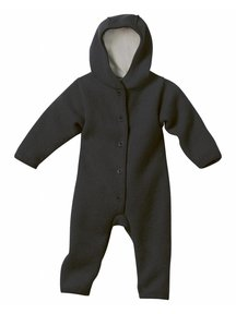 Disana Baby Overall Boiled Wool - Anthracite