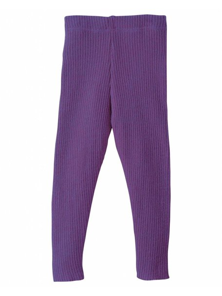 Disana Leggings Organic Wool - Plum