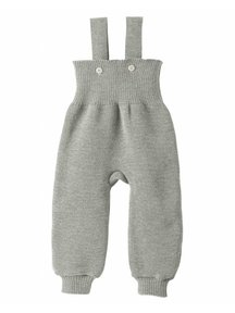 Disana Knitted Dungarees - grey