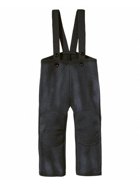 Disana Dungarees Boiled Wool - Anthracite