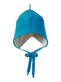 Disana Boiled Wool Hat - Blue