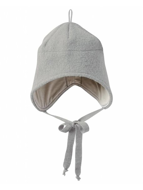 Disana Boiled Wool Hat - Grey
