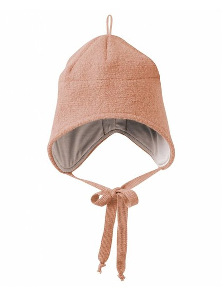 Disana Boiled Wool Hat - Rose
